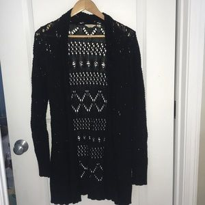Navy Blue Lucky Brand Cardigan